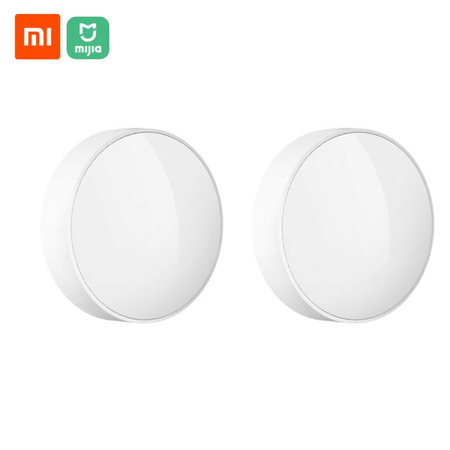 2 Stück Xiaomi Mijia Smart Light Sensor Lichtsensor Work With Multimode Gateway