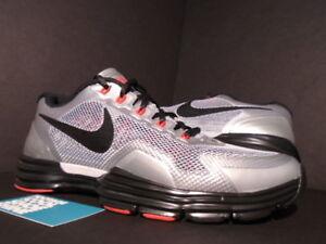 8e98a16761f 2012 Nike LUNAR TR1+ TRAINER 1 WOLF GREY BLACK RED SILVER 529169-006 ...