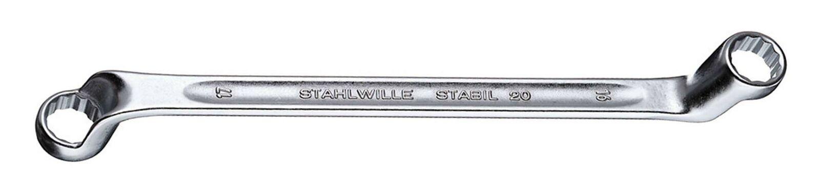 Stahlwille Doppelringschlüssel DIN838 36 x 41 mm - 20 36 X 41