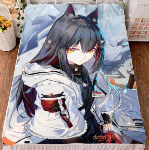 Anime Arknights Cover Gift Blanket Bed Sheets Double-bed Bedding 150×200cm #T29