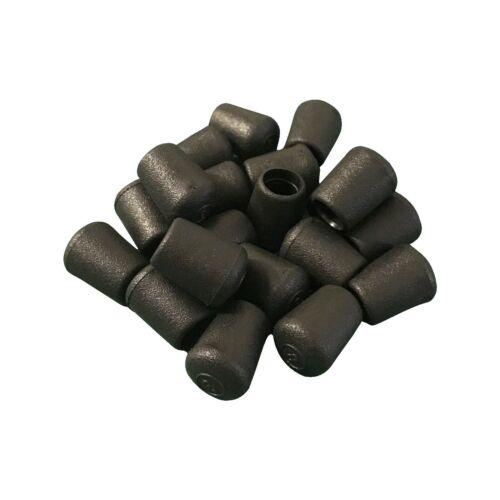 #107 20 X Plastique Bouchons d/'obturation Tube Pipe Finishing-combinaison 7 mm Tube