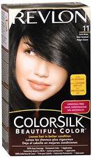Revlon ColorSilk Hair Color 11 Soft Black 1 Each (Pack of 8)