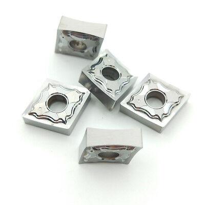 10* CNMG120402-HA H01 CNMG430-HA Aluminum blade Carbide Inse for Aluminum CNC