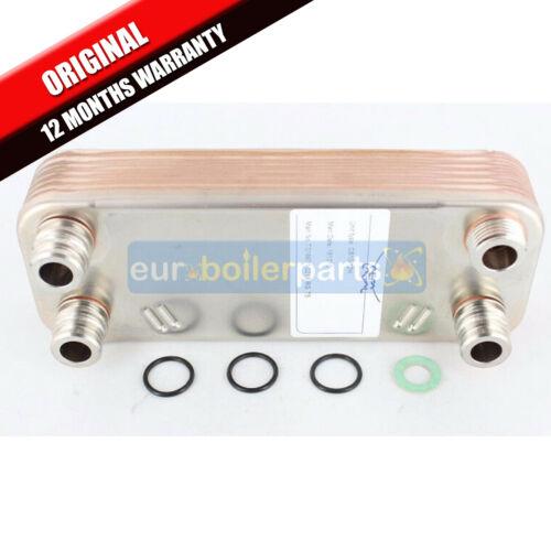 VAILLANT Turbomax Plus 837 e VUW 362//2-5 /& R3 ACS scambiatore di calore 065107 ORIGINALE