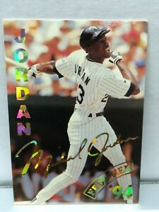 Details About 1994 Frontier Sports Michael Jordan Baseball