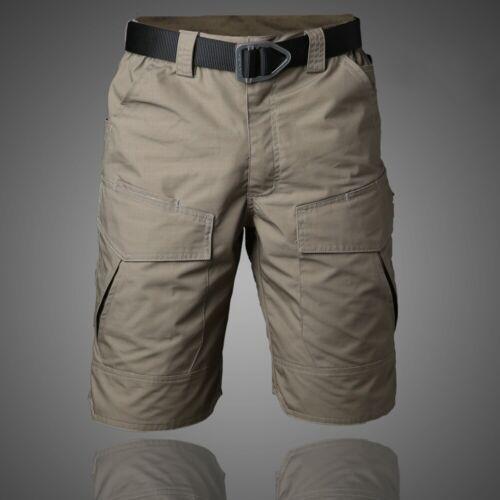Hommes Combat Short Militaire Armée Tactique Cargo Pantalon Imperméable Extérieur Casual