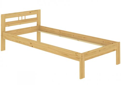 Kinderbett Kurzgröße mit Lattenrost Kiefer massiv 90x190 Futon 60.64-09-190 FV