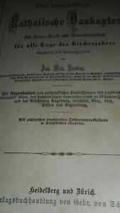 Das-hochheilige-Katholische-Dankopfer-1871-Gebetbuch-Messbuch-Missale-Bibel-Papst