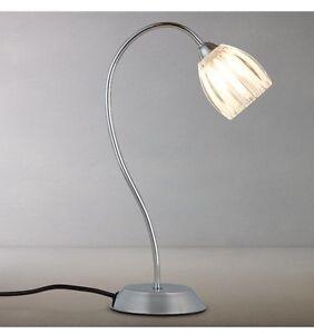 John lewis brooke touch table lamp chrome ebay image is loading john lewis brooke touch table lamp chrome aloadofball Choice Image