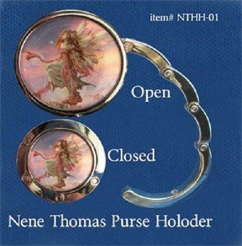 Nene Thomas Daybreak Fairy Faery Purse Hook Handbag Hanger Metal Pink