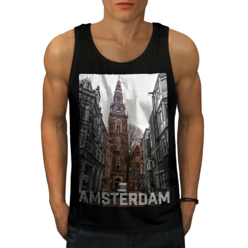 Netherland Casual Pullover Jumper Wellcoda Amsterdam Clock Womens Sweatshirt