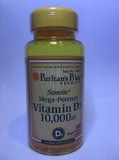 VITAMIN D3 10000 IU MEGA POTENCY IMMUNE HEALTH 100 SOFTGES