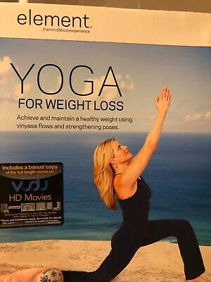 element yoga for weight loss workout dvd fitness new