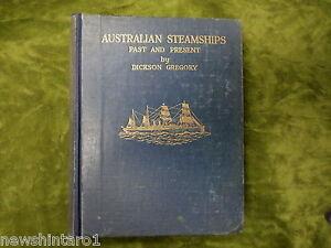 II-RARE-SHIPPING-BOOK-AUSTRALIAN-STEAMSHIPS-1928-FIRST-EDITION