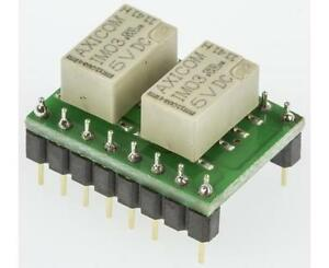 TE Connectivity, 4PDT PCB Mount Non-Latching Relay Through Hole, 1.25 A, 5V dc