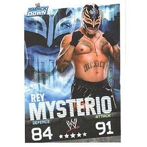 Catch Topps Slam Attax 2009 Evolution Mysterio Smack Down Champion Carte