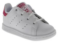 oggetto 3 Scarpe Adidas Stan Smith bambino primi passi bianco e fucsia in pelle con lacci -Scarpe Adidas Stan Smith bambino primi passi bianco e fucsia in ...