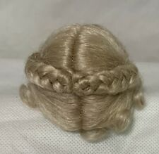 "2.75"" Diameter Buckram Pate New Doll Part  for Bisque Doll Head Cover Under Wig"