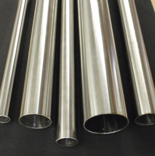 """X 12 INCH LENGTH X .040/"""" WALL POLISHED 6mm STAINLESS STEEL TUBING 1//4/"""" O.D"""