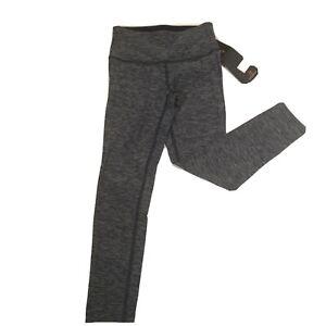 New Balance Womens Leggings Size XS Dry 23 Hi Rise Crop  Navy & Gray New