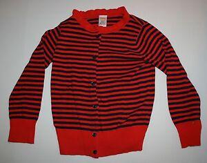 Details zu Neu Gymboree Gestreift Rüschen Kragen Strickjacke Pullover Größe 5 6 Jahr Prep