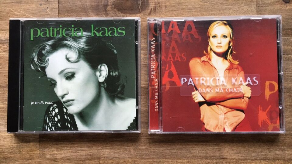 Patricia Kaas: 2 CD albums, pop