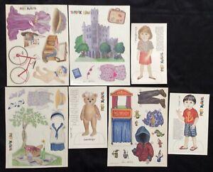 100% Vrai Collection De Boite à Jouets Enfants Paper Dolls De Boite à Jouets Mag. Pd. 1993