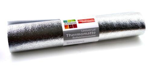 2x Universal Thermomatte 50cm x 2mIsomatteSchlafmatteCampingmatte