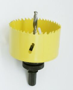 M42 Bi-Metal Hole Saw 1 Inch With Arbor and Pilot Center Drill Bit Hole Cutter