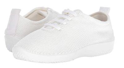 """Arcopedico Ls Blanc """" Chocs """" Chaussure à Lacets Plat Tailles Femme 36-42/5-11 Women's Shoes"""