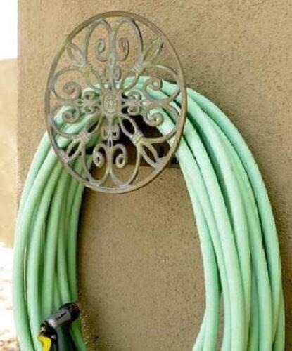 Garden Decorative Cast Aluminum Wall Mounted Hanger 125-Foot Antique