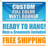 3'x4' Full Color Custom Banner High Quality Vinyl 3x4