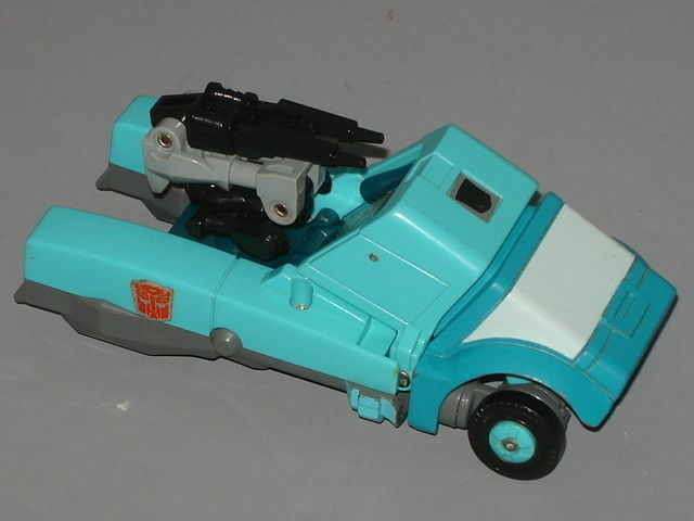 G1 Transformateurs Autobot Targetmaster KUP complète Prof  nettoyé lot  4