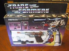 MEGATRON MIB COMPLETE MINT 'USA AUCTION ONLY' VINTAGE G1 ORIGINAL TRANSFORMER!