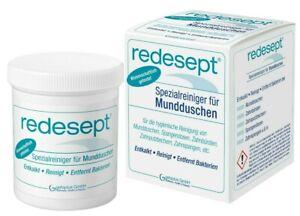 Redesept-Spezialreiniger-fuer-Mundduschen-Entkalten-Reinigen-Desinfizie-150g
