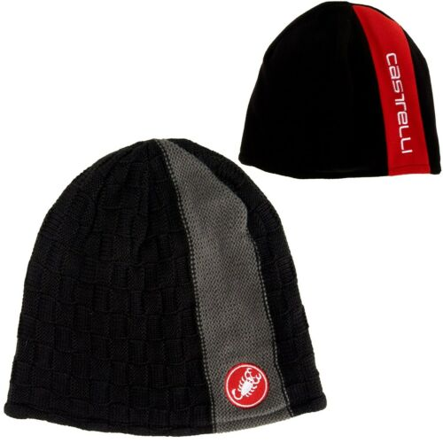 CASTELLI Beanie//Stocking Hat//Cap Bicycle//Cycling NEW O//S Black