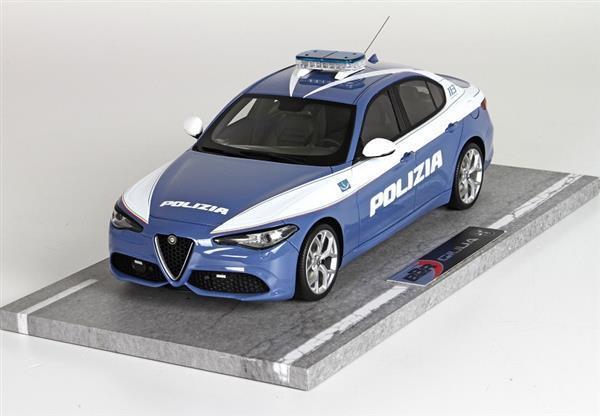 BBR Alfa Romeo Giulia Veloce Polizia 20 1 18 BBRC1829P