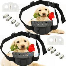 2x Anti Bark No Barking Shock Control Training Collar for Small Medium Pet Dog