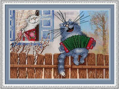 """Counted Cross Stitch Kit MP STUDIO HB-650 /""""Gifts of nature Lingonberry/"""""""
