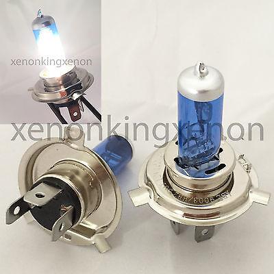 H4//9003-HB2 White Xenon Halogen 5000K Headlight 2x Light Bulb #c1 High//Low Beam