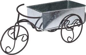 Old-Fashioned-Bike-Zinc-Planter-Plant-Pot-Zinc-Indoor-Outdoor-Planter