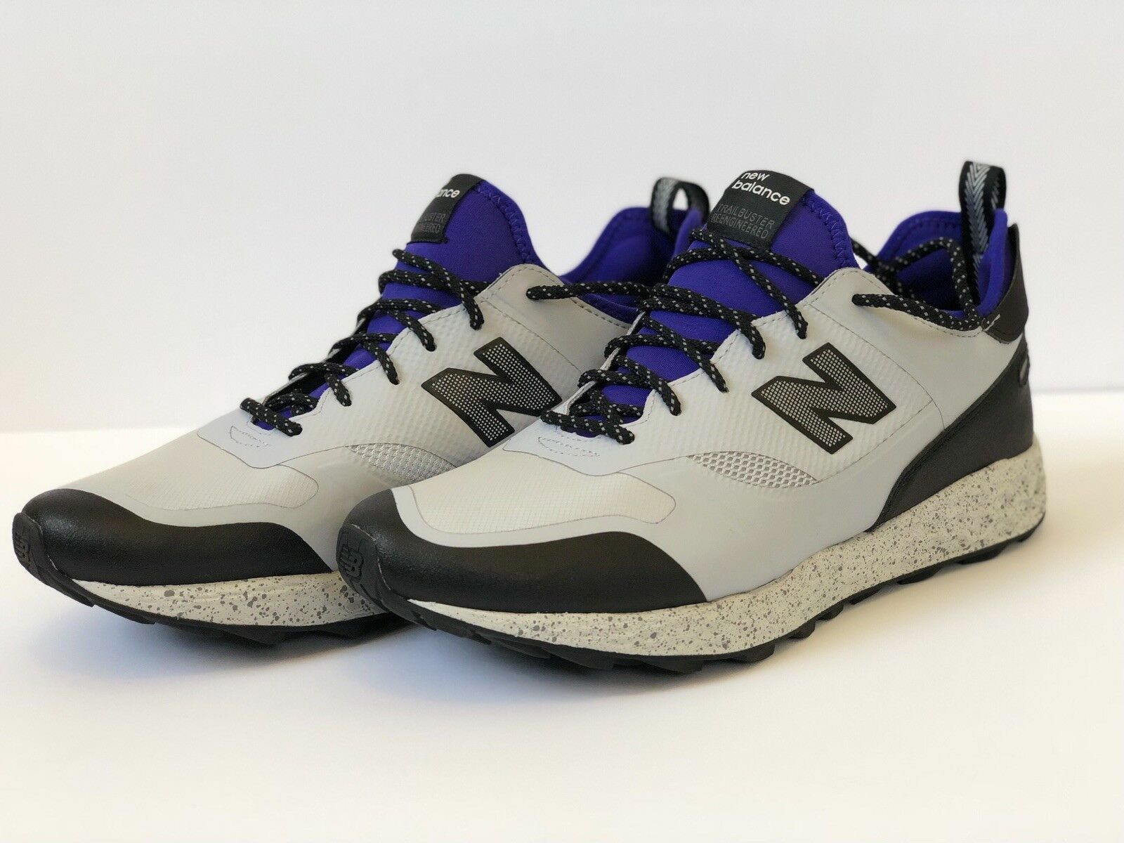 Mens New Balance Uomo Fresh Foam Foam Foam Trailbuster MFLTBGP light grigio  viola Dimensione 10.5 fa860c