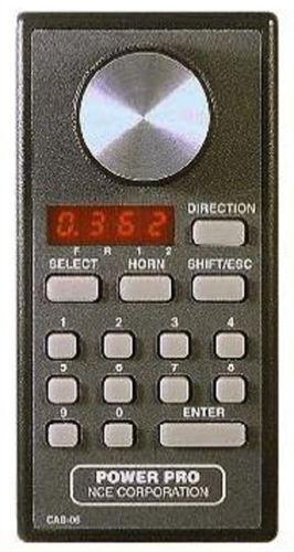 NCE DCC New 2019 Cab06pr 524 -044 Trödtle Cab, LED, radio, Potentiometer