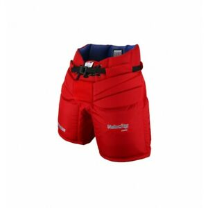 New Vaughn 1100i Int Goal Pants Red Intermediate Xl 30 Ice Hockey