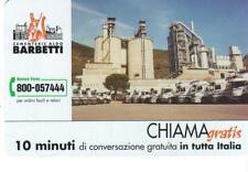 CHIAMAGRATIS - CEMENTERIE A.BARBETTI -  VALIDITA' DAL 01/10/2003 AL 31/03/2004