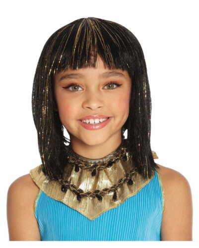 Cleopatra niños peluca 28cm para carnaval /& Halloween