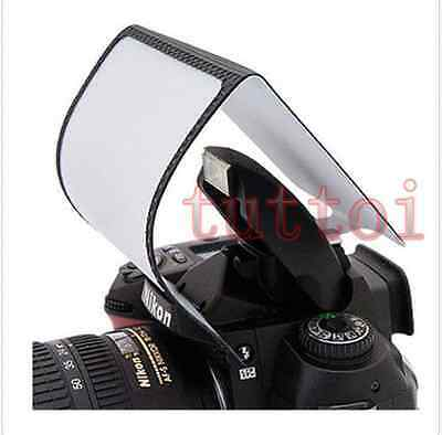 Soft Pop-Up Flash Diffuser for Nikon D5100 Pentax K-r K-x K-m Samsung NX10