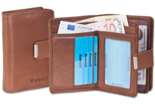 Compact And Modern Women's Wallet From Soft Leather In Brown