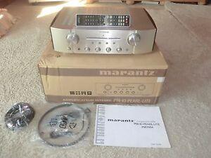 Marantz PM-ki Pearl Lite high-end amplificadores, champán OVP, 2 años de garantía