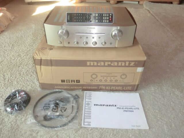 Marantz PM-ki Pearl Lite high-end amplificadores, champaña, OVP, 2 años de garantía